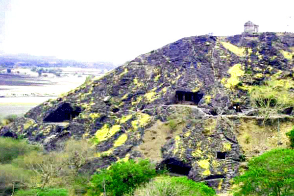 Sana Caves in Gujarat