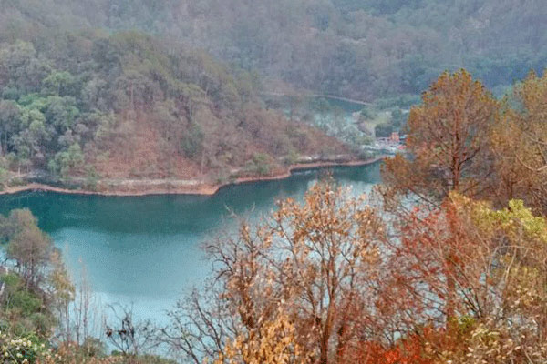 Sattal Lake in Nainital