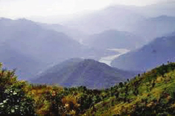 Sherpa View Point in Kalimpong