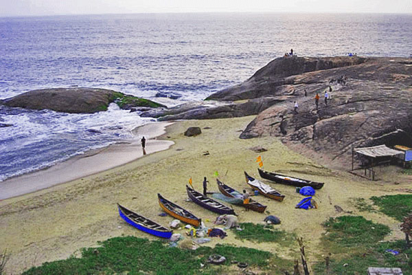 Someshwar Beach in Mangalore