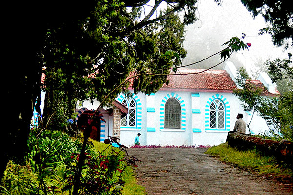 St Peters Church in Kodaikanal