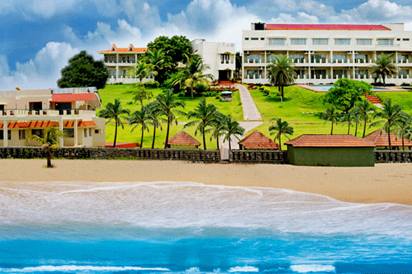 St. James Court Beach Resort in Pondicherry