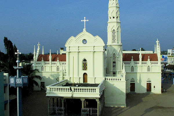 St. Xavier Church in Kanyakumari