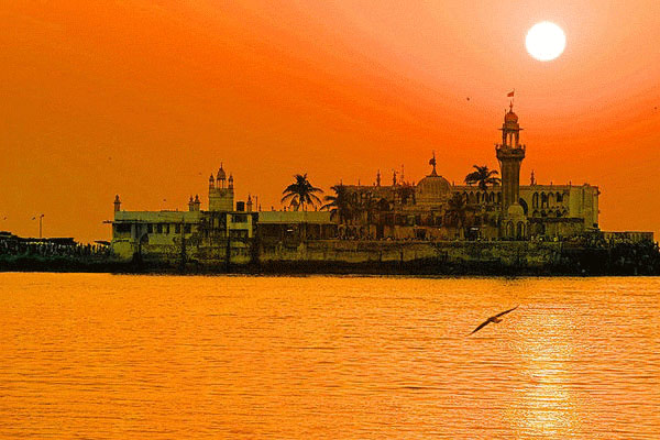 Sunset at Haji Ali