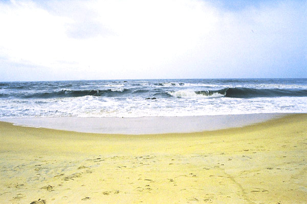 Surathkal beach in Mangalore