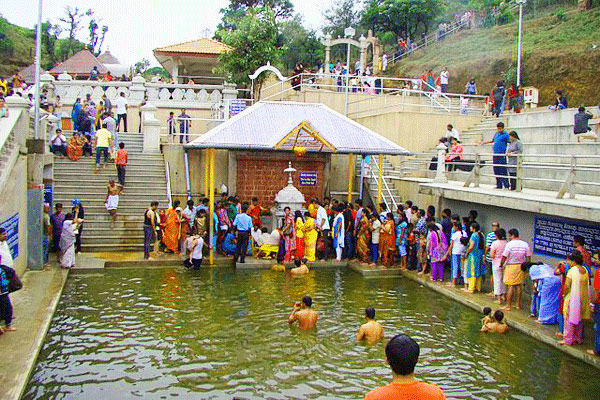 Talakaveri Temple in Coorg