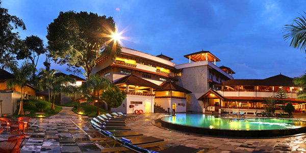 The Elephant Court Resort in Thekkady