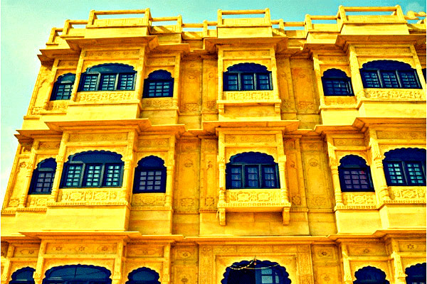 The Golden House in Jaisalmer