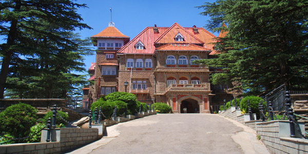 The Gorton Castle in Shimla