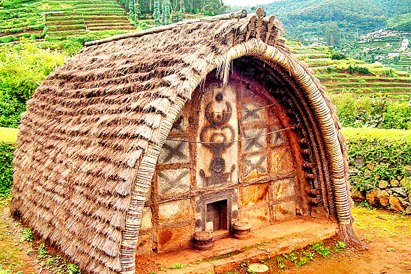 Toda Huts in Ooty