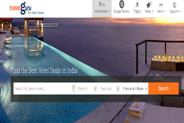 Travelguru Hotel Booking Websites In India