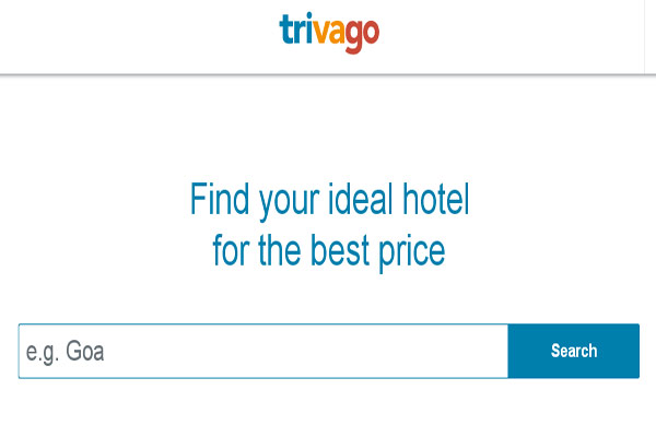 Trivago Hotels Booking Websites in India