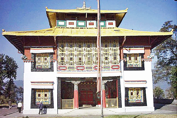 Tsuklakhang Monasteries in Gangtok