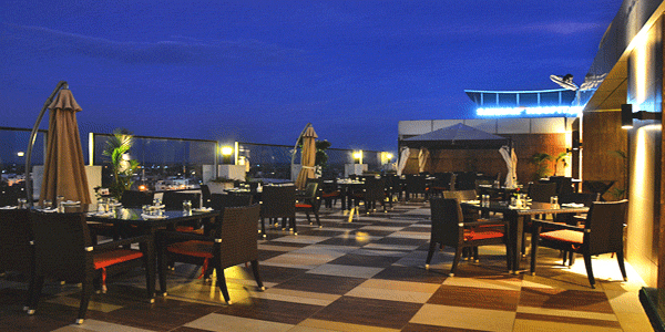 The Urban Terrace Restaurant in Lucknow