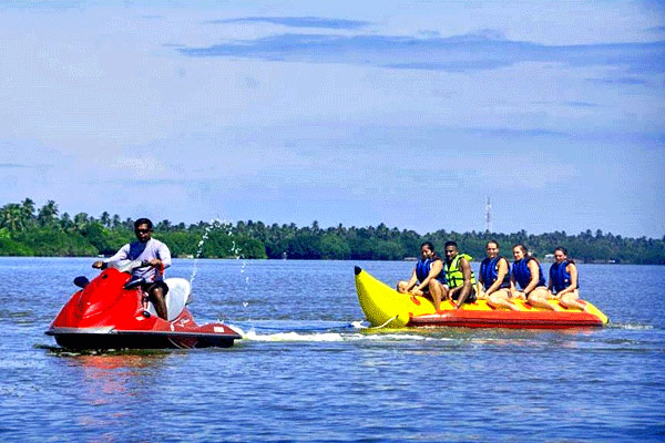 Banana Ride at Port Blair