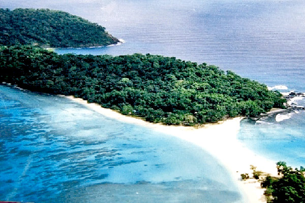 Cinque Island in Port Blair