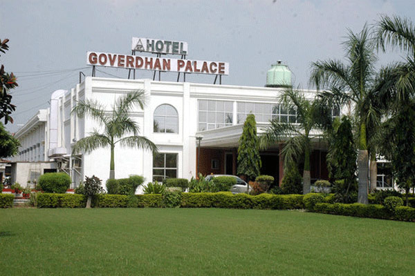 Hotel Goverdhan Palace in Mathura