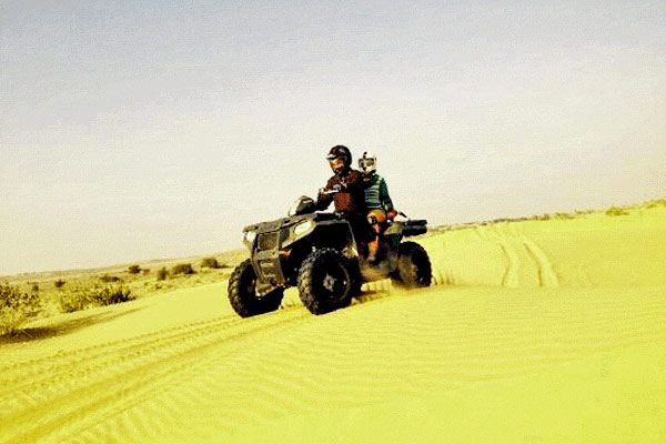 Quad Biking at Jaisalmer