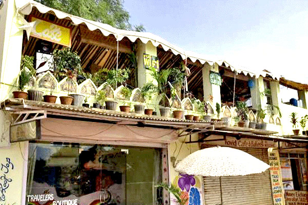 Travelers Boutique Restaurant in Pushkar