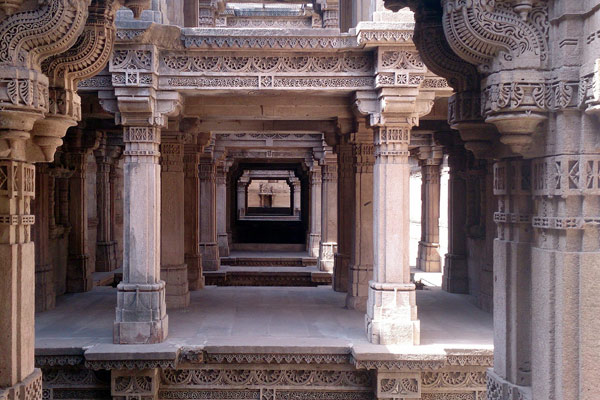 Adalaj Step Well in Ahmedabad