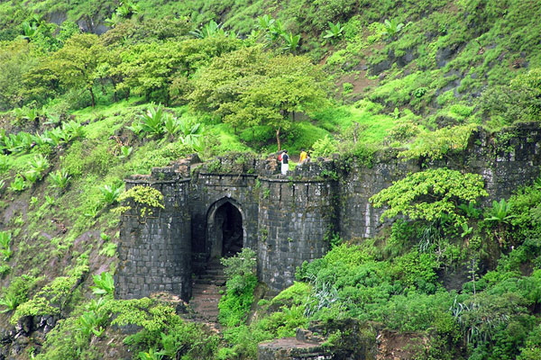 Sinhagad Fort Trek near Pune