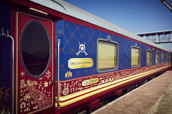 Deccan Odyssey, top luxury trains in india