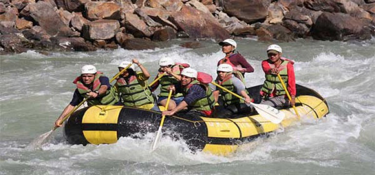 Famous Adventure Activities in India