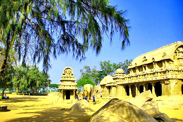 Top Monuments in Mahabalipuram