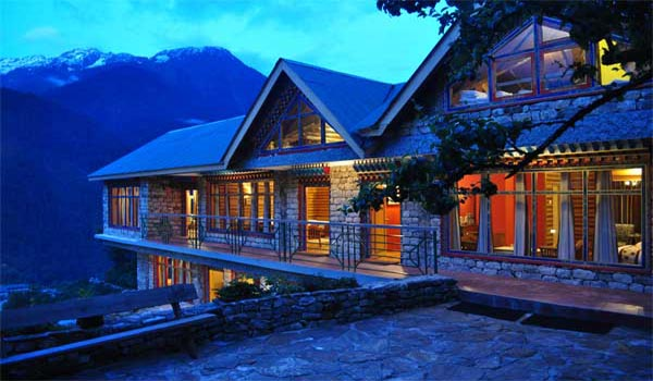 Famous Luxurious Hotels in Sikkim