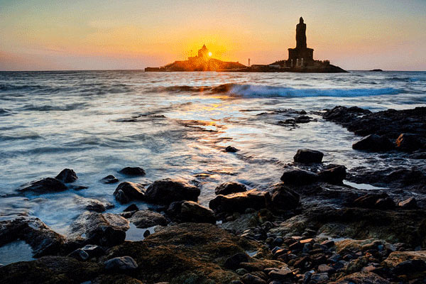 Famous Tourist Places in Kanyakumari